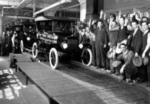Ten Millionth Model T come off the line