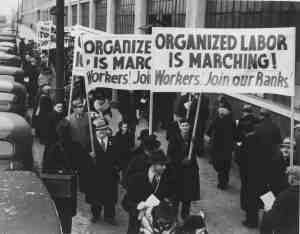 WPR: Marches & Pickets